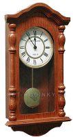 Zvětšit fotografii - Kyvadlové hodiny dřevěné pendlovky A19/175/2-762 Rádiem řízený čas z Frankfurtu n. M. (RCC)