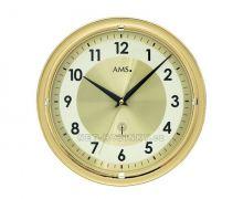 Nástěnné hodiny skleněné AMS 5945, AMS 5946 rádiem řízené stoje