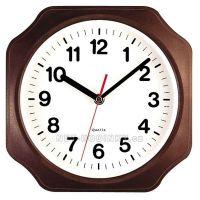 Zvětšit fotografii - Nástěnné hodiny plastové 3024.9 hnědá