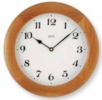 Dřevěné nástěnné hodiny AMS 929/9