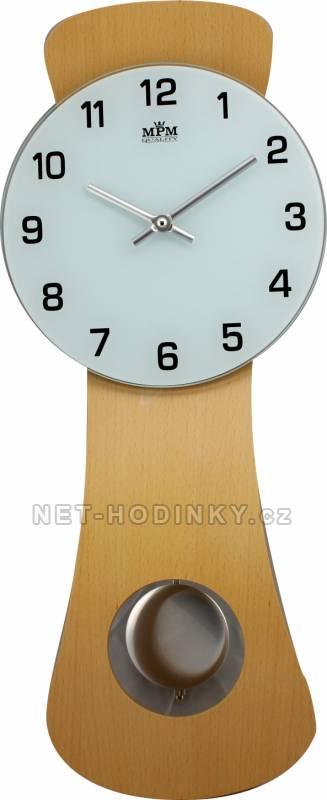 Kyvadlové nástěnné hodiny na zeď, pendlovky quartzové E05.2712.53