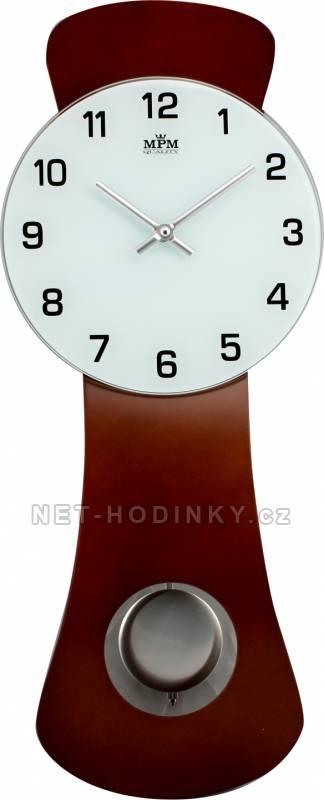Kyvadlové nástěnné hodiny na zeď, pendlovky quartzové E05.2712.54