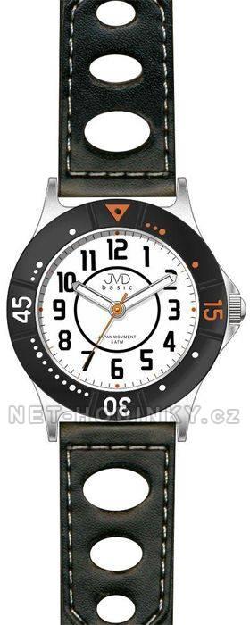 Dětské náramkové hodinky s koženým páskem JVD J7087.1.2 J7087.1.2