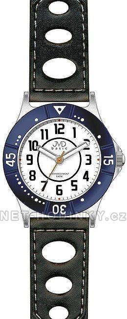 Dětské náramkové hodinky s koženým páskem JVD J7087.1.2 J7087.2.3