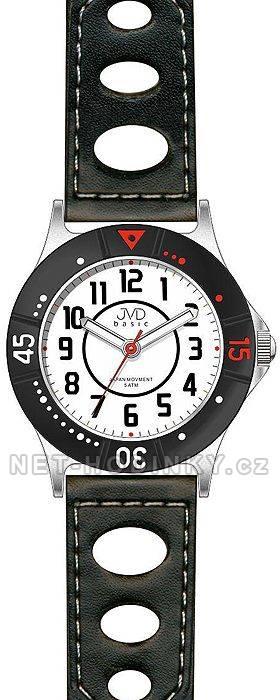 Dětské náramkové hodinky s koženým páskem JVD J7087.1.2 J7087.3.0