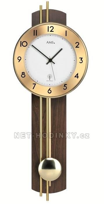 Moderní kyvadlové hodiny AMS 5266/1, 5266/18 AMS 5266/1