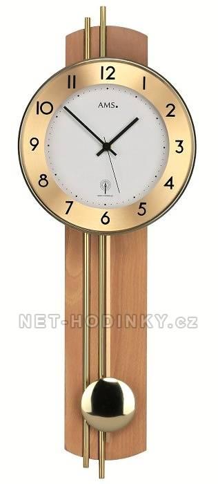 Moderní kyvadlové hodiny AMS 5266/1, 5266/18 AMS 5266/18