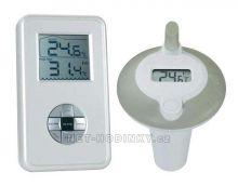Bazénový teploměr bezdrátový + měří teplotu vzduchu