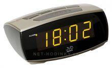 Nástěnné hodiny digitální budíky, digitální budík el. adaptér JVD Nástěnné hodiny