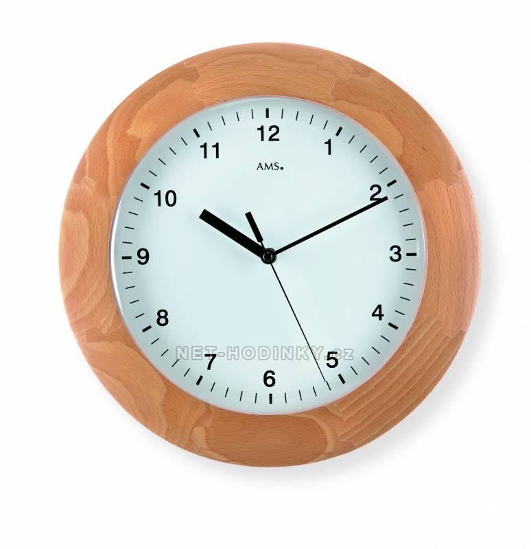 Nástěnné hodiny AMS 5904/1, 5904/18 AMS 5904/18