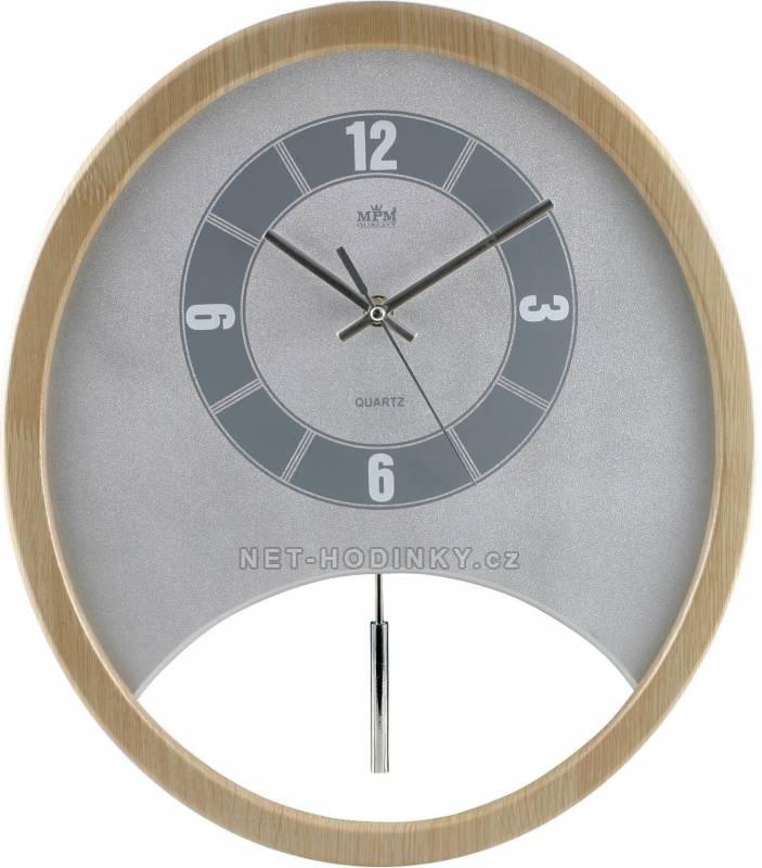 Kyvadlové nástěnné hodiny na zeď, pendlovky quartzové QHA3882B