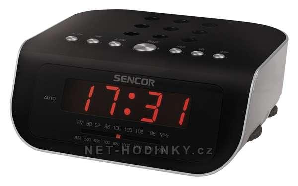Radiový budík Sencor