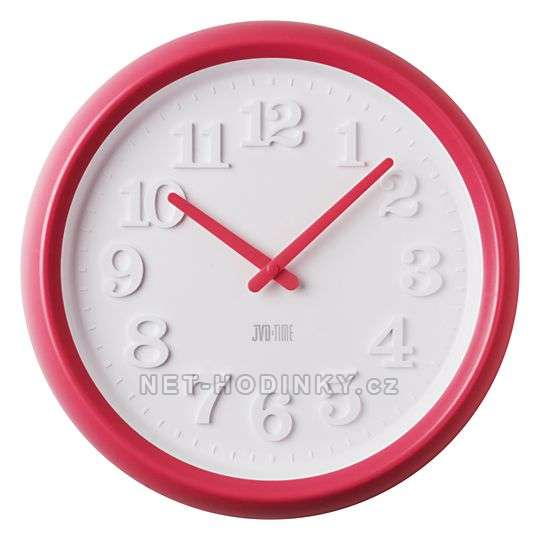 Dětské nástěnné hodiny JVD