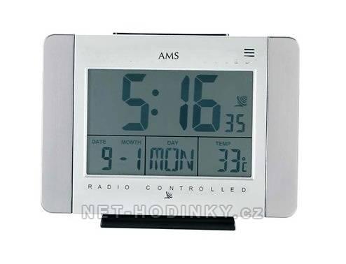 Digitální rádiem řízené hodiny stolní AMS 5126