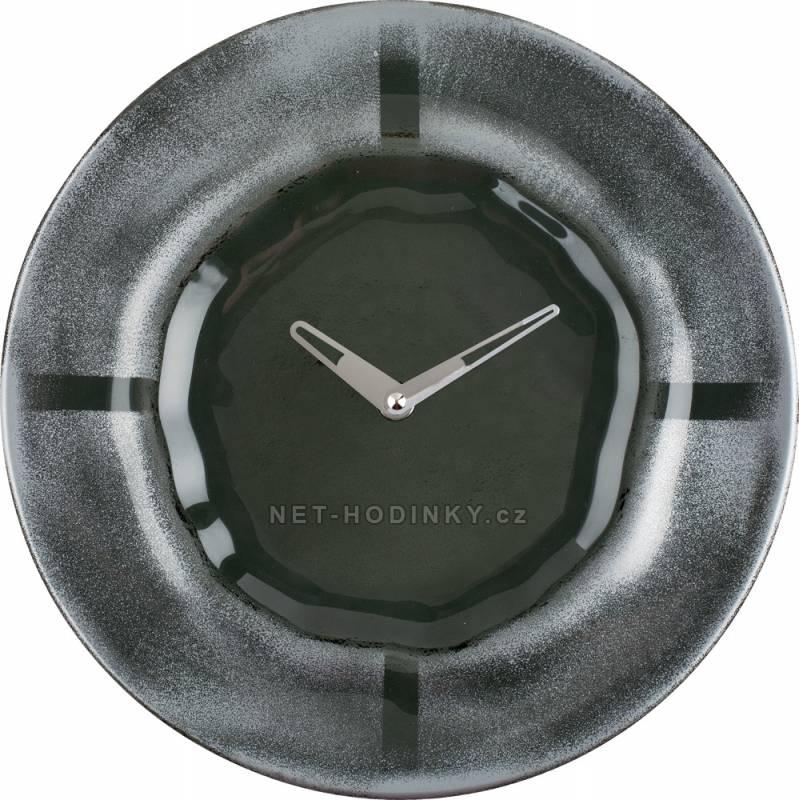 Nástěnné hodiny Skleněné nástěnné hodiny na zeď H&H Nástěnné hodiny