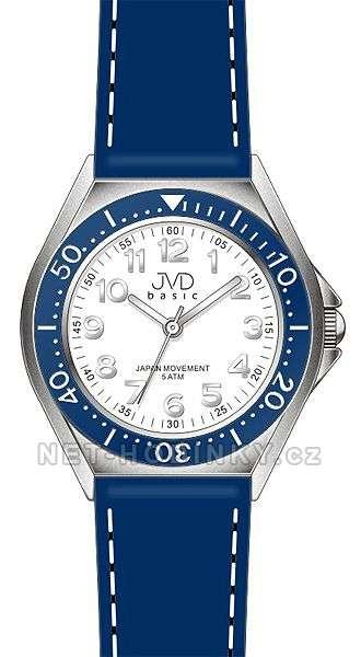 JVD Náramkové dětské hodinky pro holky, dívčí hodinky, hodinky pro kluky modrá