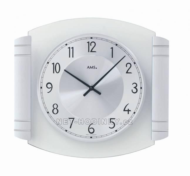 Nástěnné hodiny Nástěnné bateriové hodiny AMS 9376 Nástěnné hodiny