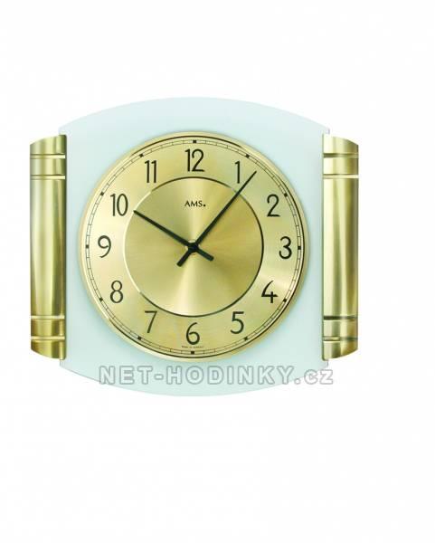 Nástěnné hodiny Nástěnné bateriové hodiny AMS 9377 Nástěnné hodiny