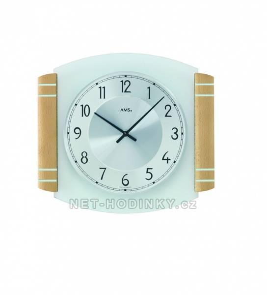 Nástěnné bateriové hodiny AMS 9379