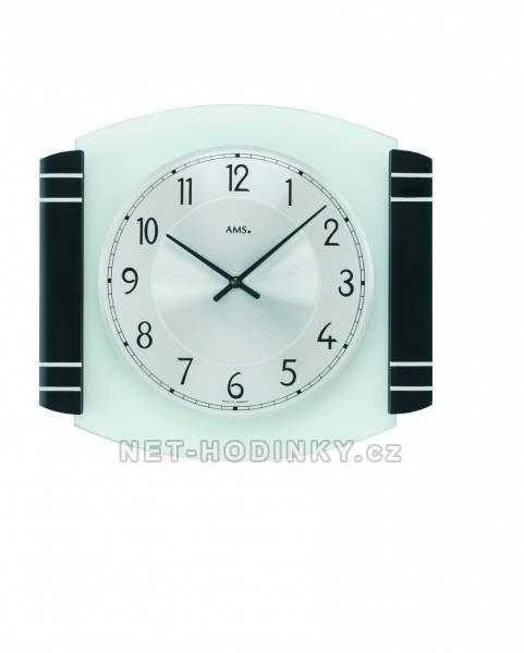 Nástěnné bateriové hodiny AMS 9381
