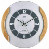 Nástěnné hodiny dřevěné MPM QHA3876A, QHA3876B