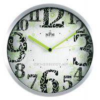 Nástěnné hodiny kovové RB3312NB.GN