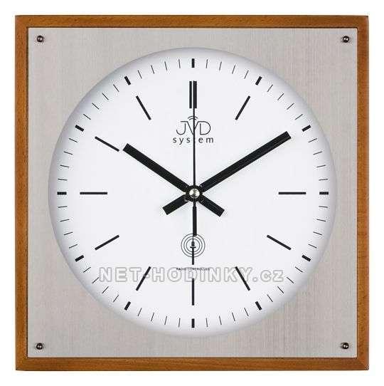 JVD Nástěnné hodiny na stěnu, nástěnné hodiny na zeď RH28082/41.1 třešeň