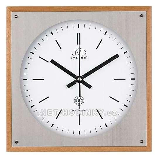 JVD Nástěnné hodiny na stěnu, nástěnné hodiny na zeď RH28082/68.3 olše