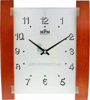 Pěkné dřevěné nástěnné hodiny E07.2704.50