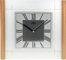 Pěkné dřevěné nástěnné hodiny E07.2715.54, E07.2715.53 z kvalitních materiálů