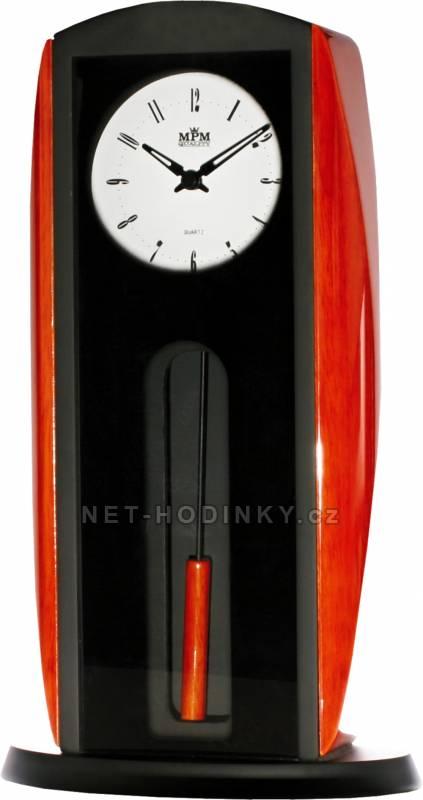 MPM Quality Stolní dřevěné hodiny T018