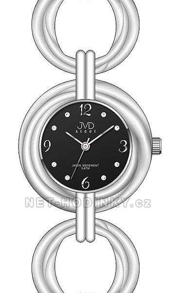JVD Dámské náramkové hodinky luxusní J4122.1.1 černá