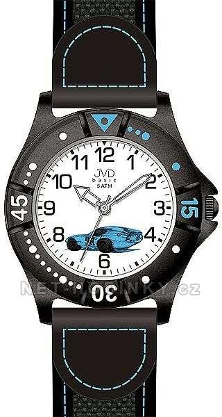 JVD dětské hodinky chlapecké, Dětské náramkové hodinky J7103.4.1, J7103.5.2, J7103.6.3 J7103.5.2 modrá
