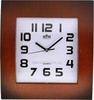 Nástěnné hodiny plastové hranaté E01.2803.9