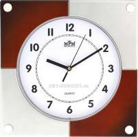 Nástěnné hodiny plastové hranaté E01.2805 .2