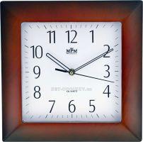 Nástěnné hodiny plastové hranaté  E01.2808.8