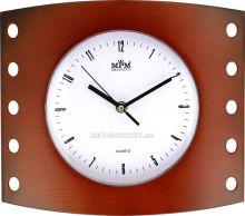 Nástěnné hodiny plastové hranaté  E01.2814.7
