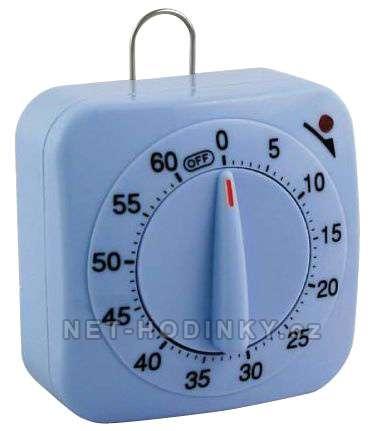 Kuchynská minutka, minutky pověšení na zeď kuchyňská minutka modrá
