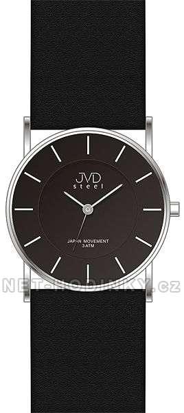 Moderní dámské hodinky JVD J1064.2.1, J1064.3.2 černá