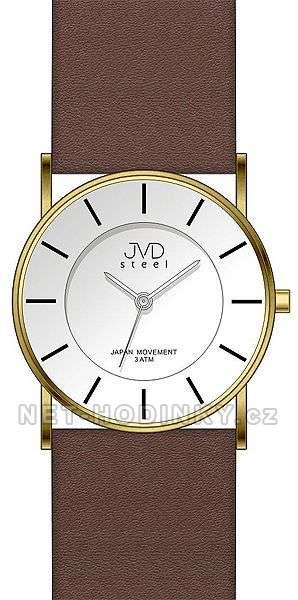 Moderní dámské hodinky JVD J1064.2.1, J1064.3.2 hnědá