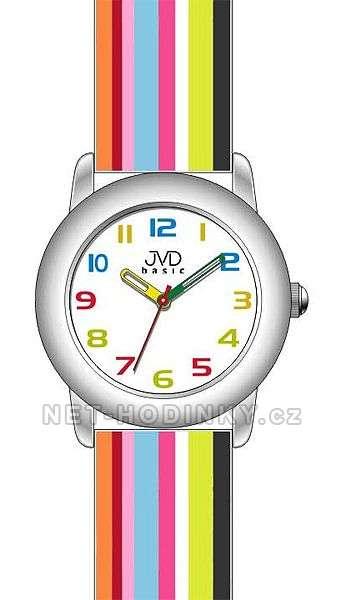 Náramkové dětské hodinky JVD basic W58.1.1, W58.2.2, W58.3.3, hodinky pro holky a kluky W58.1.1