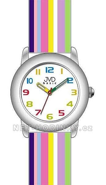 Náramkové dětské hodinky JVD basic W58.1.1, W58.2.2, W58.3.3, hodinky pro holky a kluky W58.2.2