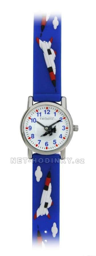 Disney Náramkové dětské hodinky, chlapecké hodinky holčičí, hodinky pro kluky a holky (FDRAKETADBL)