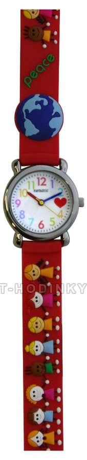 Náramkové dívčí, chlapecké hodinky (FDBUSBL), (FDBEARV), (FDDELFINBL), (FDDETIR) Náramkové hodinky dětské děti