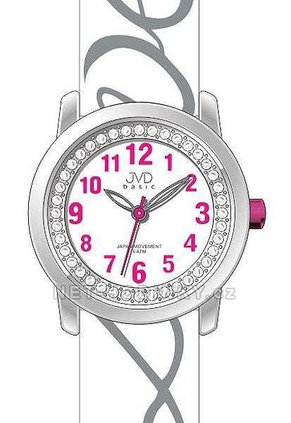 Náramkové dívčí hodinky JVD basic J7138.2.2, J7138.3.3, dětské hodinky pro holky J7138.1.1