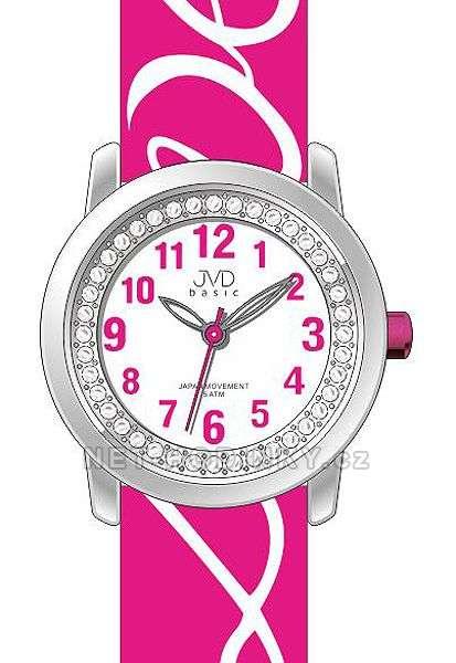 Náramkové dívčí hodinky JVD basic J7138.2.2, J7138.3.3, dětské hodinky pro holky J7138.2.2
