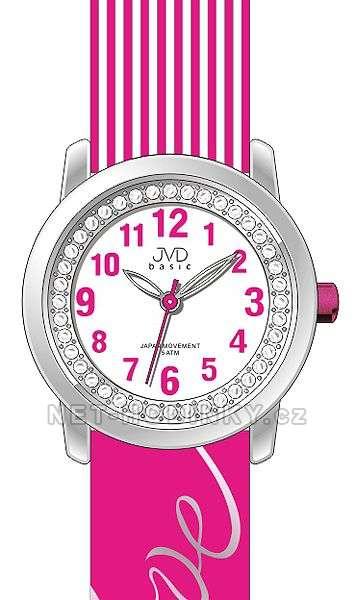 Náramkové dívčí hodinky JVD basic J7139.1.1, J7139.2.2, J7139.3.3, hodinky pro holky J7139.1.1