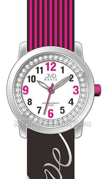 Náramkové dívčí hodinky JVD basic J7139.1.1, J7139.2.2, J7139.3.3, hodinky pro holky J7139.2.2