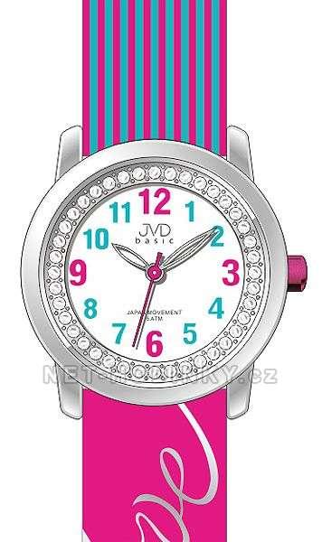 Náramkové dívčí hodinky JVD basic J7139.1.1, J7139.2.2, J7139.3.3, hodinky pro holky J7139.3.3