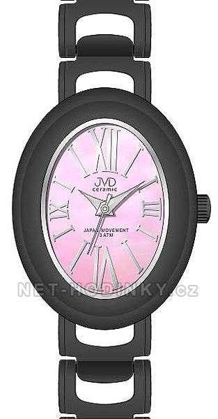 Náramkové hodinky dámské JVD ceramic J6010.1, J6010.2, J6010.3 J6010.1